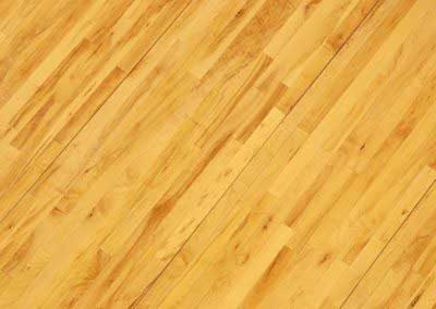 Wooden Basketball Floor Shot Overhead at Diagonal