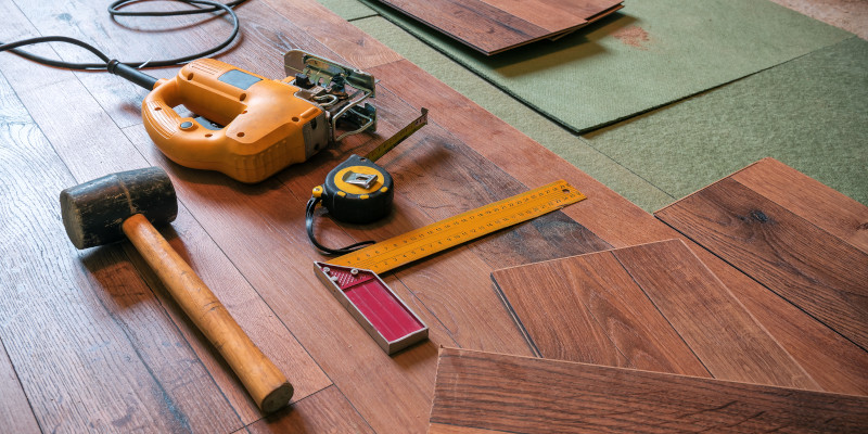 Flooring Repair in Mooresville, North Carolina