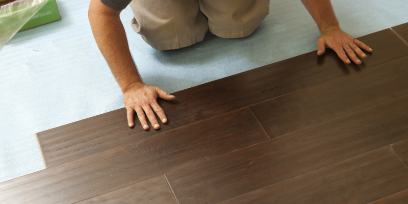 a professional team can complete your flooring installation