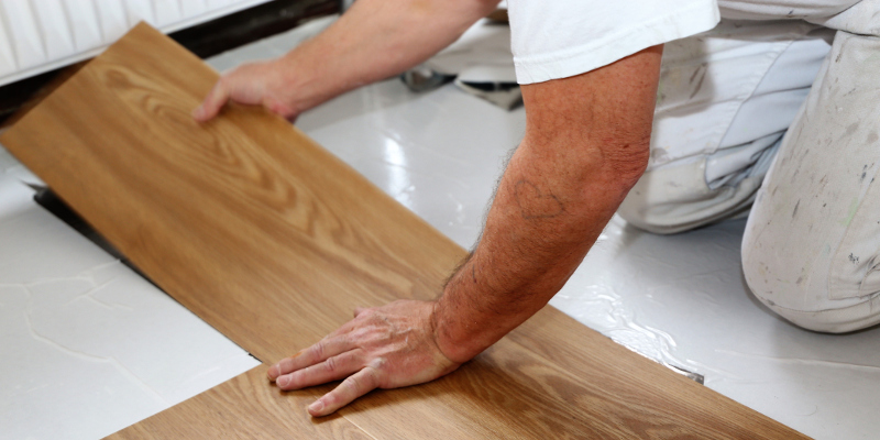 Commercial Vinyl Flooring in Mooresville, North Carolina