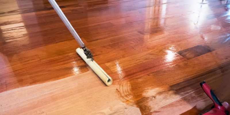Floor Refinishing in Mooresville, North Carolina