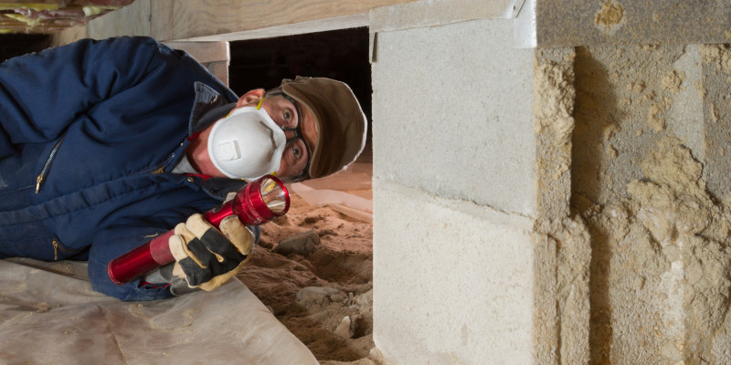 Crawlspace Inspection in Mooresville, North Carolina